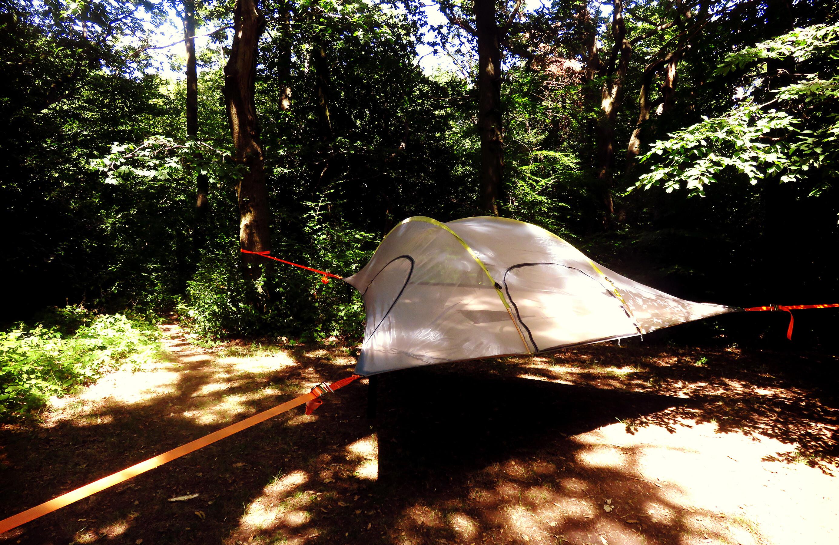 Tentsile Safari Range Tent 3 Persons Black At Addnature Co Uk
